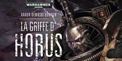 La Griffe d'Horus (couverture française)